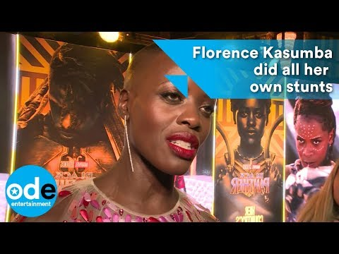 Florence Kasumba did all her own stunts in Black Panther movie!