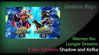 FF6 Raid: 5 Star Kefka and Shadow Announced
