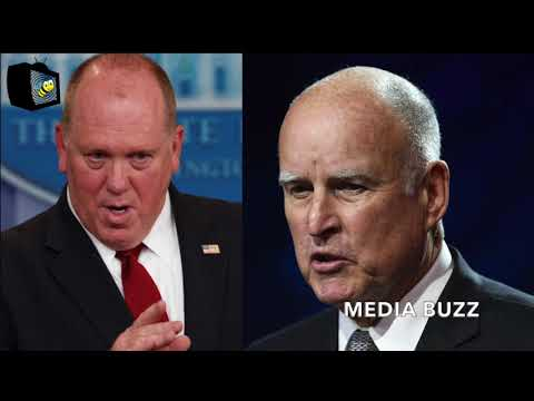 ICE Director Warns California Governor Jerry Brown that He's Coming to ENFORCE THE LAW! 1/3/18