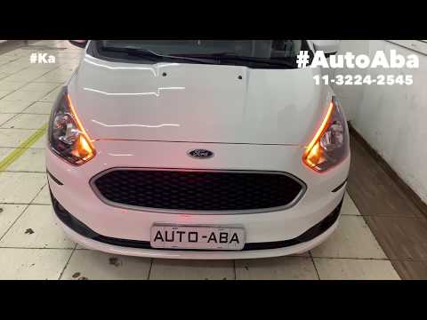FORD KA TOP 2019 2020 DRL Leds Desbloqueio do Multimidia Original Tv Digital e Espelhamento Celular