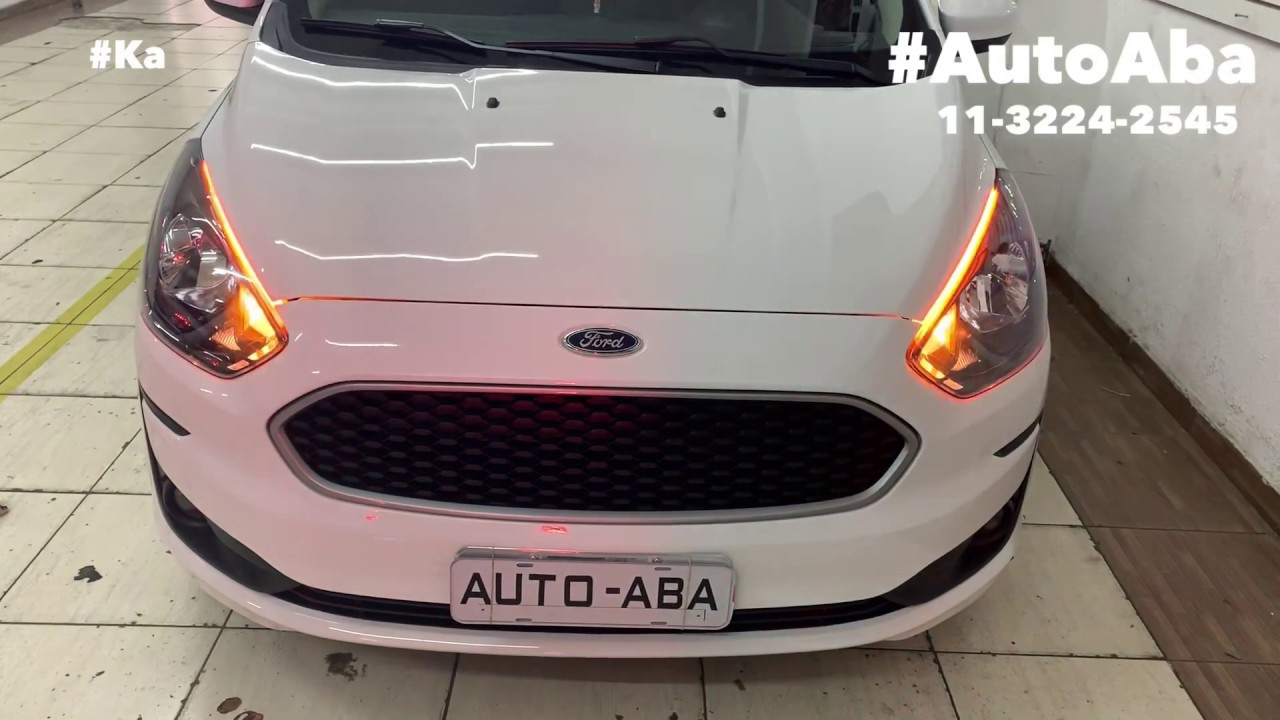 Ford Ka Top 2019 2020 Drl Leds Desbloqueio Do Multimidia Original