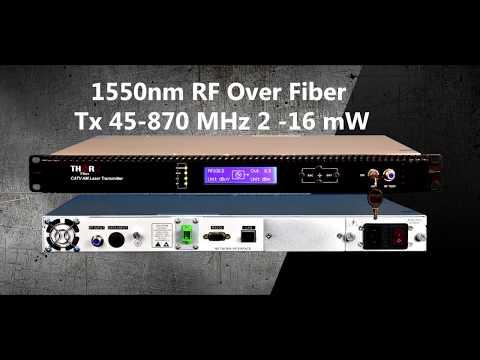 Rf To Fiber Converter, Transmitter