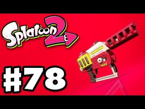 Splatoon 2 - Gameplay Walkthrough Part 78 - Rapid Blaster Pro! (Nintendo Switch)