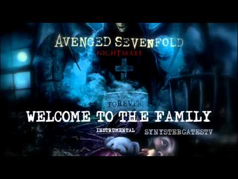 Avenged Sevenfold - Welcome To The Family (Official Instrumental)