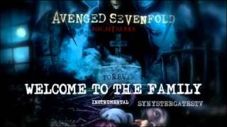 Repeat youtube video Avenged Sevenfold - Welcome To The Family (Official Instrumental)