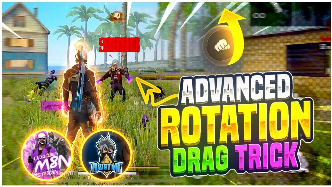 Advanced Rotation Drag Headshot Trick 🔥| Rotation Drag Kaise Kare | Drag Headshot Trick Free Fire 🔥