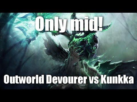 видео: only mid 1 на 1 dota 2 [outworld devourer vs kunkka]