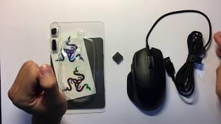 Mở hộp Chuột Không Dây Razer Basilisk Hyperspeed chuyên chơi game