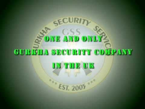 Gurkha security Services - Farnborough, Folkestone and Birmingham