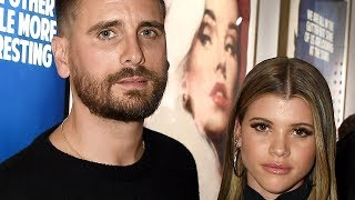 Scott Disick & Sofia Richie Have AWKWARD Run In With Kourtney During Dinner!
