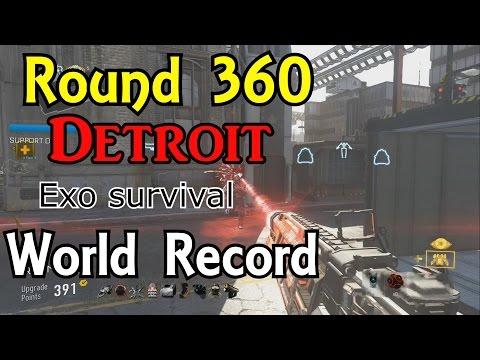 Exo survival Round 360 detroit world record best high round strategy suicide with ilsteveil
