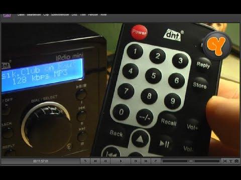 Einrichtung & Test: IPdio Mini Internet Radio Standalone Webradio DNT