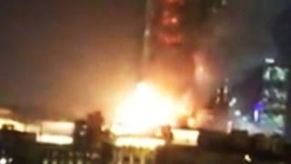 Large explosion during hotel fire