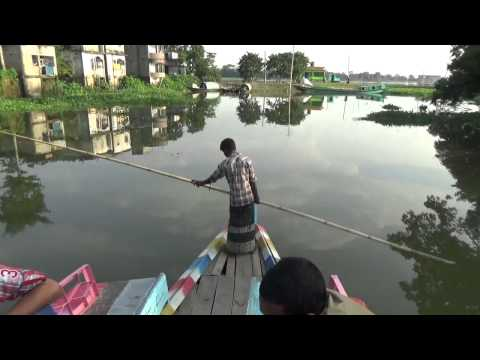 Boat Journey from Bangladesh Jogonatpur to my village