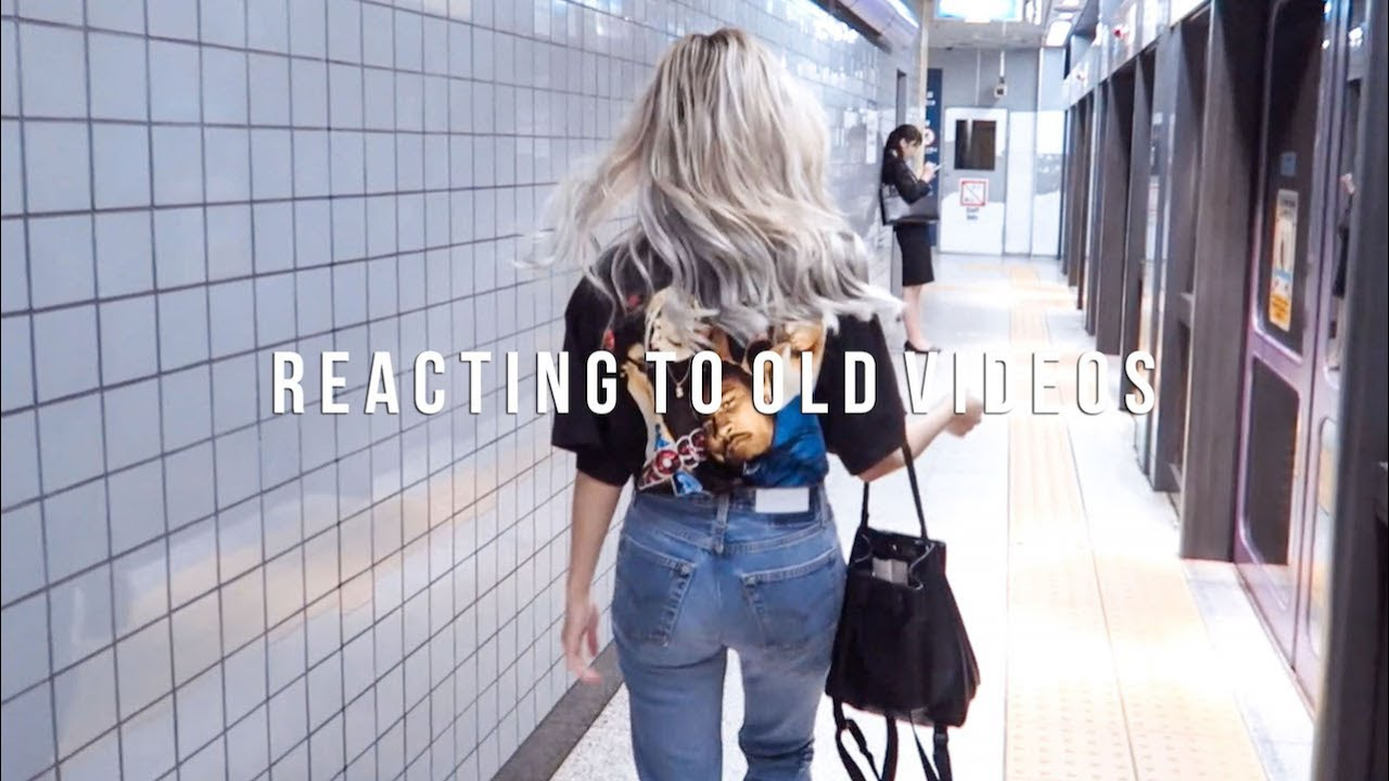 Reacting To My Old Videos | Follow SoSo