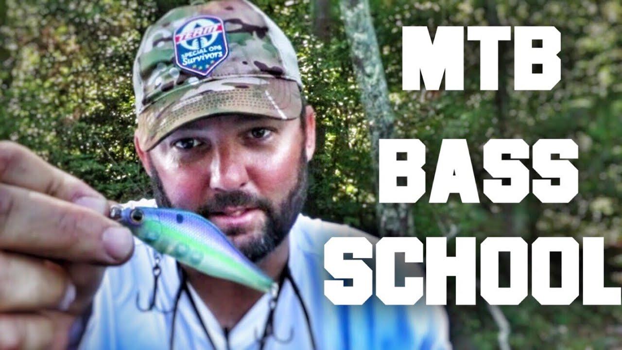 Mtb Bass Fishing School Mtb Slam Frog Fishing