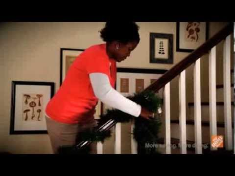 Quick tips holiday decorating tips youtube for Home depot christmas decorations 2013