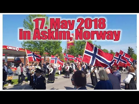 May 17. 2018. (Norwegian Independence Day) - in Askim Norway