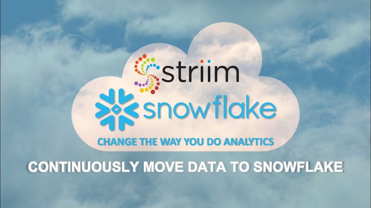 Continuously Move Data to Snowflake with In-Flight Transformations