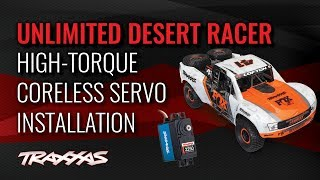 High Torque Servo Installation | Unlimited Desert Racer