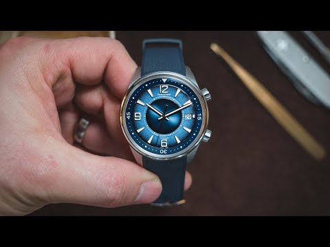 Jaeger LeCoultre launch a stunning dial for their limited edition sports watch - Polaris Date