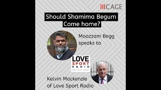 Moazzam Begg Debates Kelvin MacKenzie and the HJS on Shamima Begum