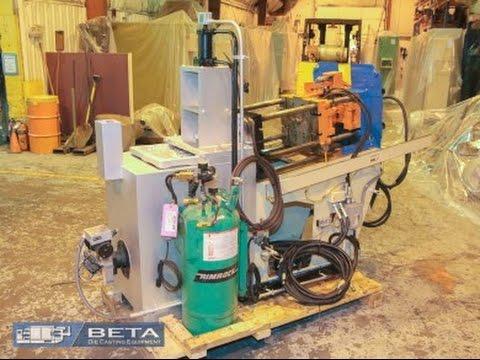 Used 35 Ton DTI Hot Chamber Die Casting Machine No 4220