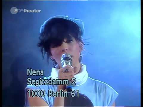 Nena 99 Luftballons Live On Hitparade 1983 Youtube