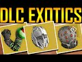 Destiny - ALL DLC EXOTIC GEAR REVEALED!