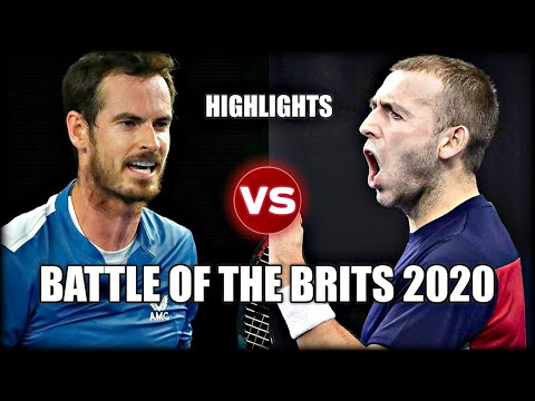 Andy Murray vs Daniel Evans EXHIBITION 2020