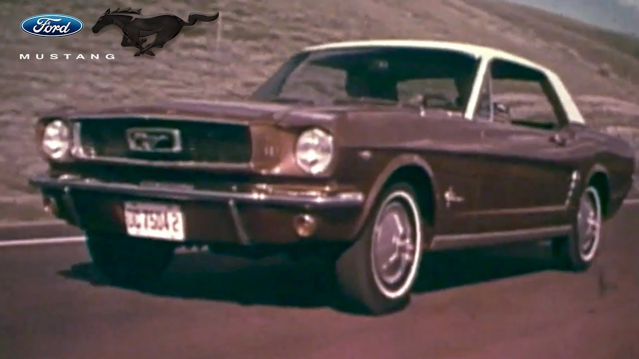 Ford mustang through the years