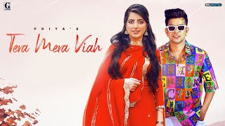 Tera Mera Viah : PRIYA (Official Song) Jass Manak | MixSingh | Full Video 19 October 6 PM | Geet MP3