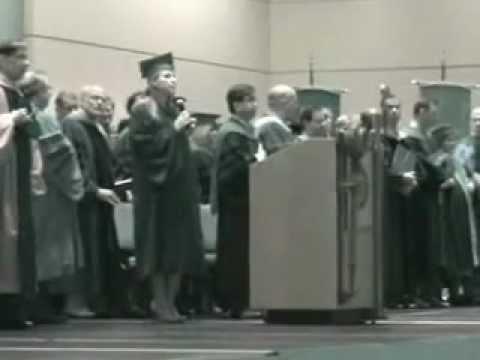 Laura Huling - UConn Dental Graduation National Anthem