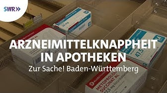 Vor Ort in der Apotheke | Zur Sache! Baden-Württemberg