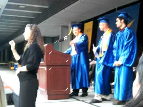 Chris Jones Graduation 2010 at North Seattle Community College (cont'd)