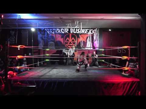 3-2-1 BATTLE! Horror Business 10.28.16 Steve West vs Eddie Van Glam