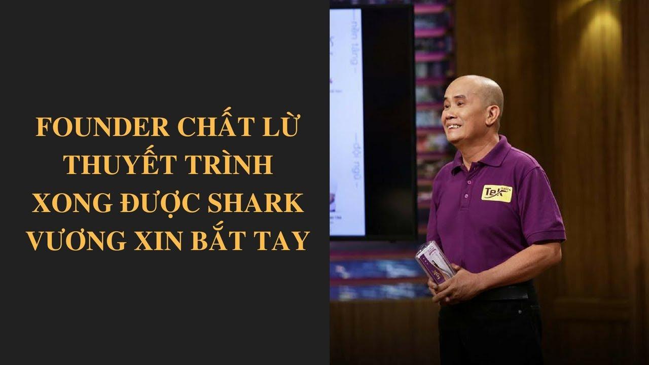 Shark Tank Việt Nam tập 13 - Founder chất lừ thuyết trình xong được Shark Vương xin bắt tay - VTV24