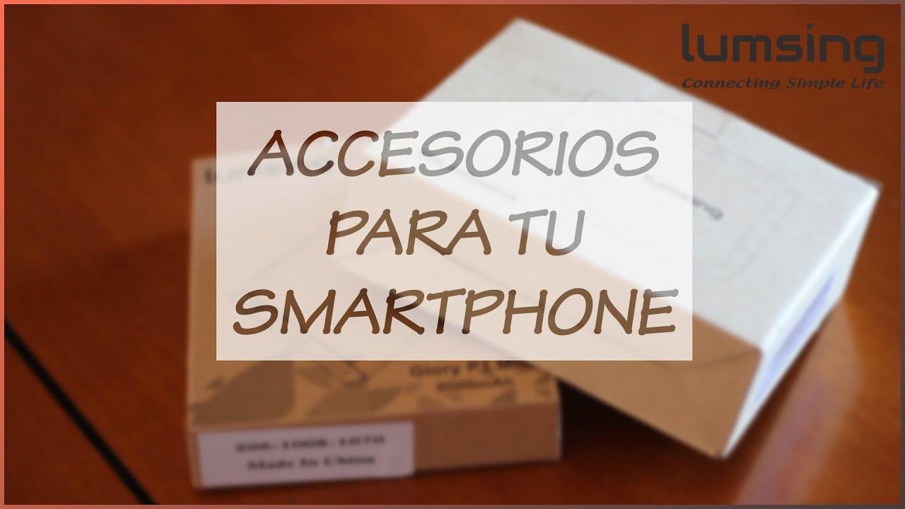 Los mejores accesorios para tu smartphone power bank y for Accesorios para smartphone