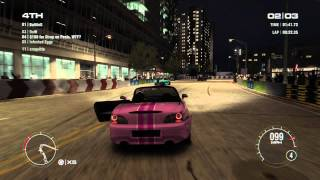 GRID 2 PC Multiplayer Race Gameplay: Tier 2 Upgraded Honda S2000 in Miami, Downtown Speedway