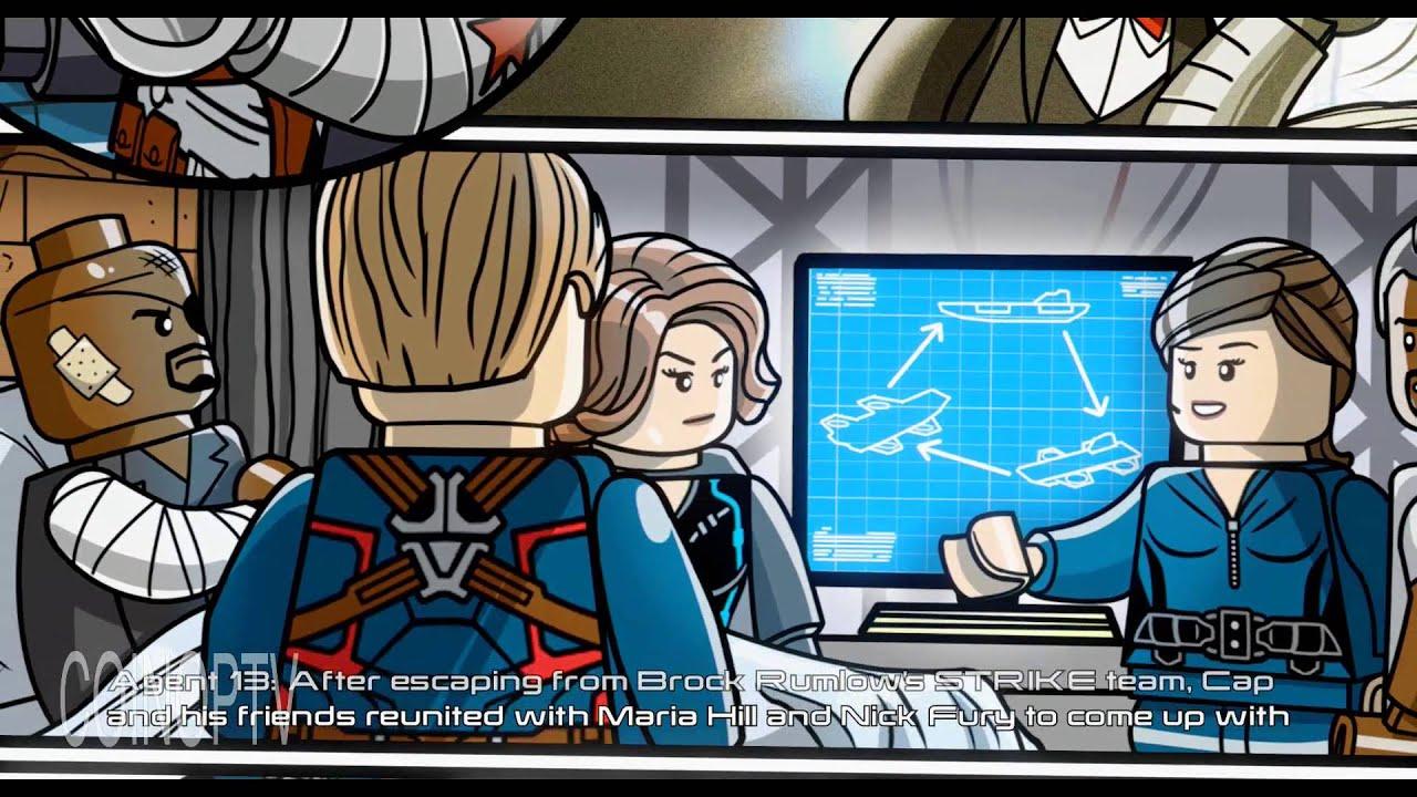 LEGO Marvel's Avengers Gameplay 05 Lack of Insight - YouTube