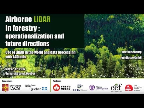 Martin Isenburg - LiDAR Workshop 2016
