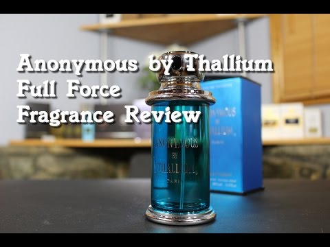 Anonymous By Thallium Full Force Fragrance / Cologne Review (Versace Eros Clone)