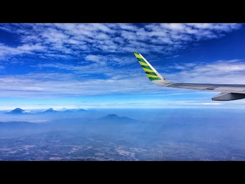 Citilink A320 Engine Start, Taxi and Taking Off Adi Soemarmo International Airport