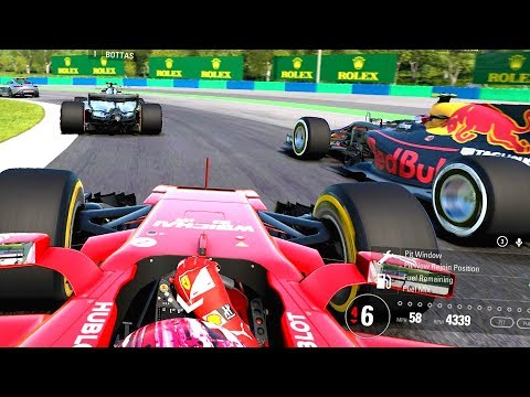 ROLLERCOASTER OF A RACE! INCREDIBLE RESULT! - F1 2017 Online Career Mode Part 11