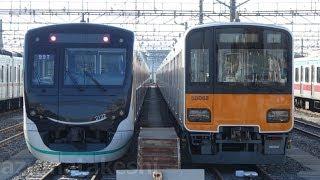 【東武50050系 51068F 出場試運転から約1か月運用に入らず。】東武20400系 21432F 南栗橋入場。オハ14-505(ドリームカー)の代わりにオハフ15-1の幕が抜かれ南栗橋留置