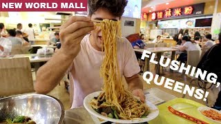 ASIAN FOOD FEAST! Flushing, Queens | New World Mall | DEVOUR POWER