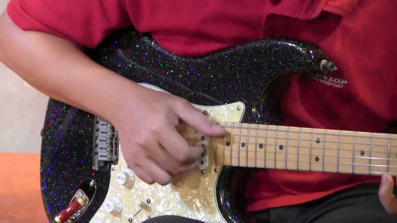 1994 Fender Cs Black Holo Flake Stratocaster Youtube