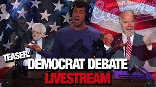 Crowder's Democrat Debate Livestream Takeover! (Teaser) | Louder with Crowder