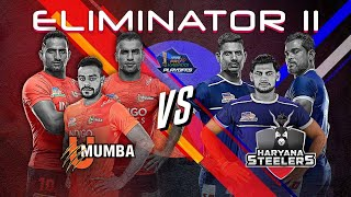 Pro Kabaddi 2019 Eliminator Highlights | U Mumba vs Haryana Steelers
