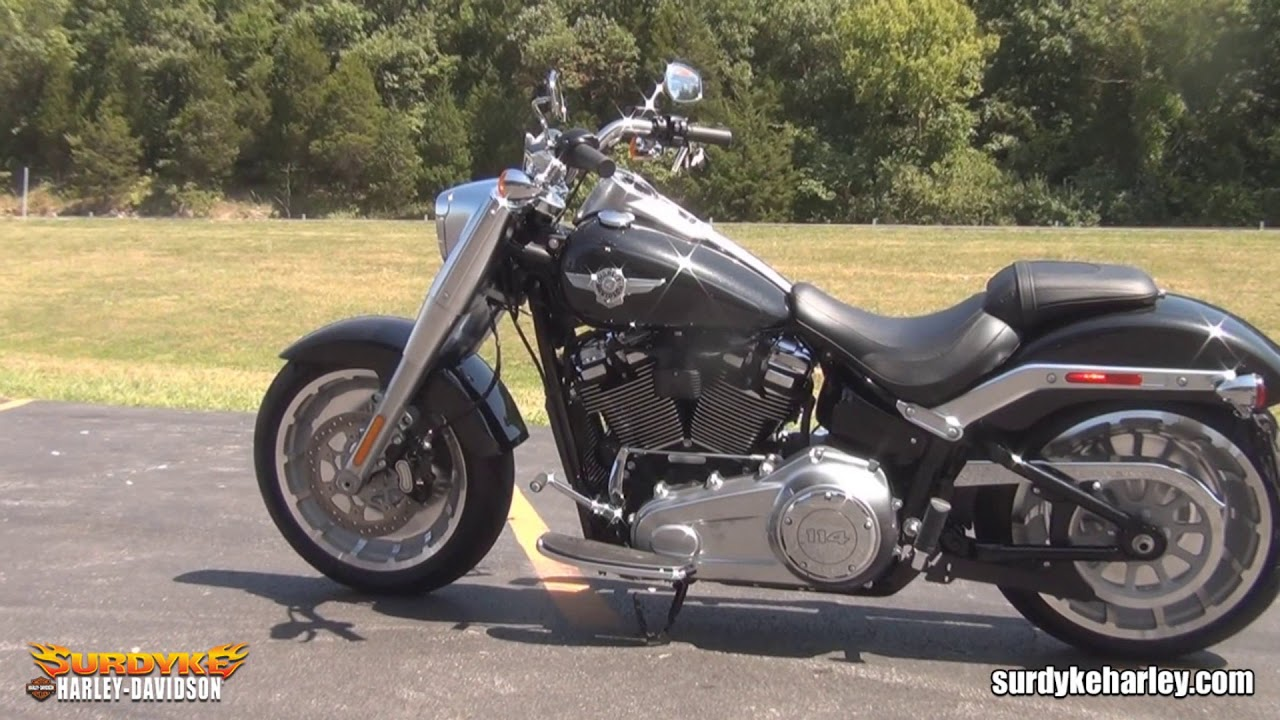 New 2018 Harley Fat Boy For Sale - YouTube